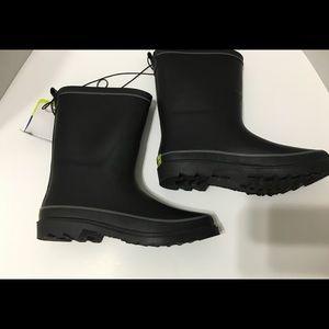 Western Cheif black Rain boots boys sz 5